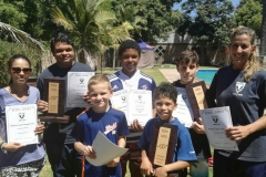 Eden Judo Award winners
