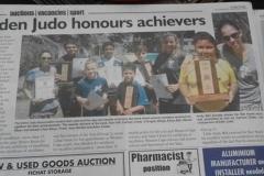 Eden Judo Award Winners - George Herold